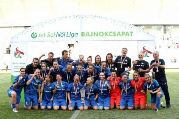 A bajnoki címvédő MTK Hungária a Bajnokok Ligájában is maradandót alkotna Forrás: mtkhungaria.hu