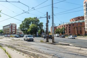 Orczy téri villamospálya-felújítás