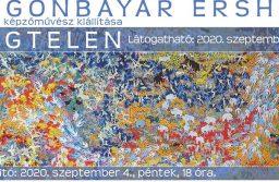 OTGO Otgonbayar Ershuu mongol képzőművész kiállítása