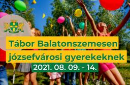 Önkormányzat – ingyenes nyári tábor Balatonszemesen