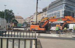 Új üteméhez érkezett a Blaha Lujza tér felújítása